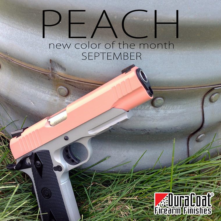 Peach - SEPTEMBER 2019 New Color of the Month