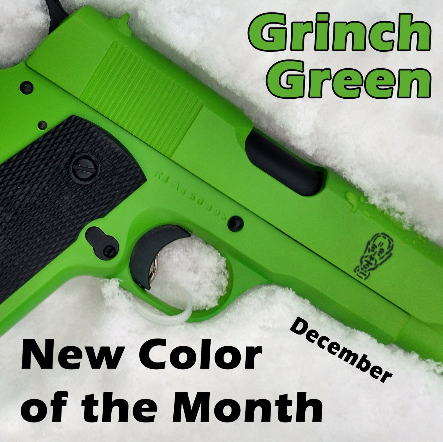 Grinch Green - DECEMBER New Color of the Month