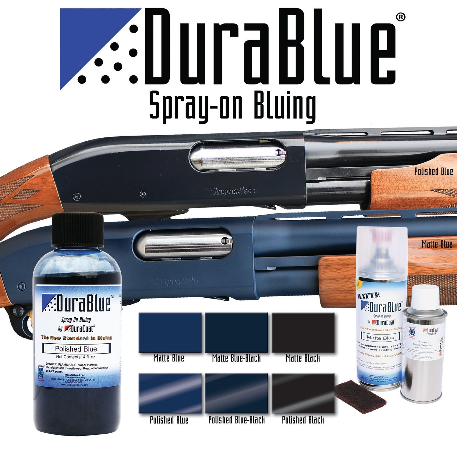 DuraBlue® Spray-On Bluing