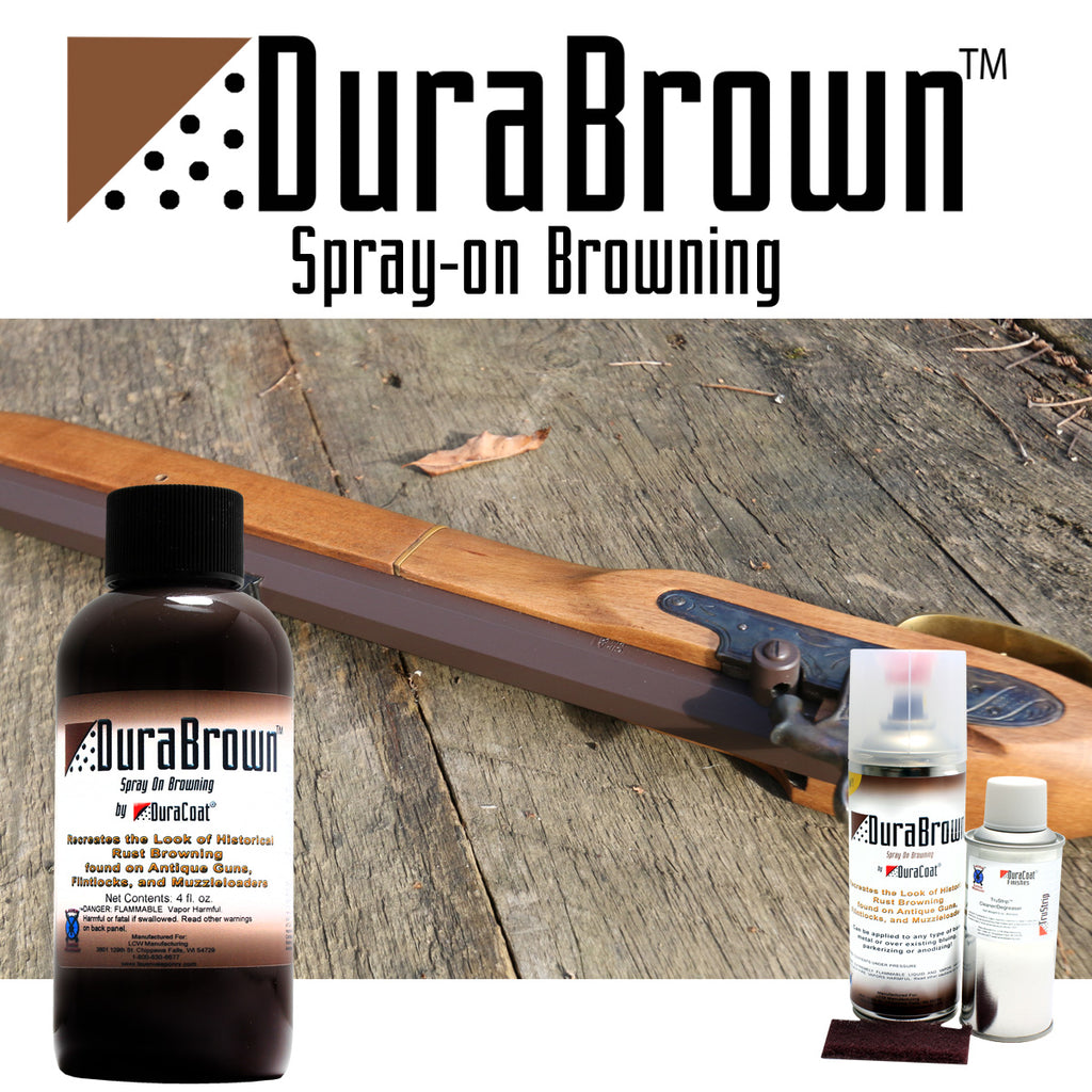 DuraBrown™ Spray-On Browning