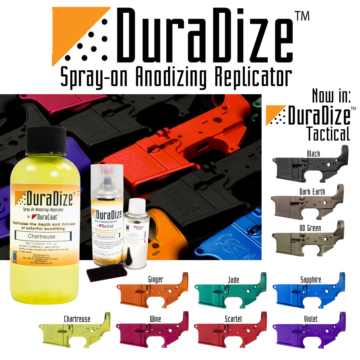 DuraDize™ Spray-On Anodizing Replicator