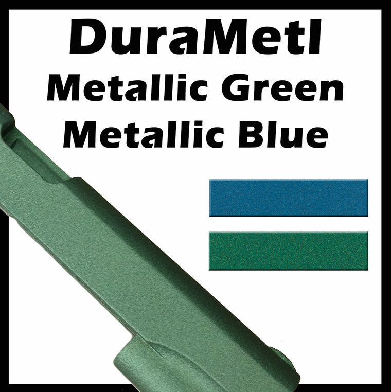 DuraMetl Metallic Green and Blue