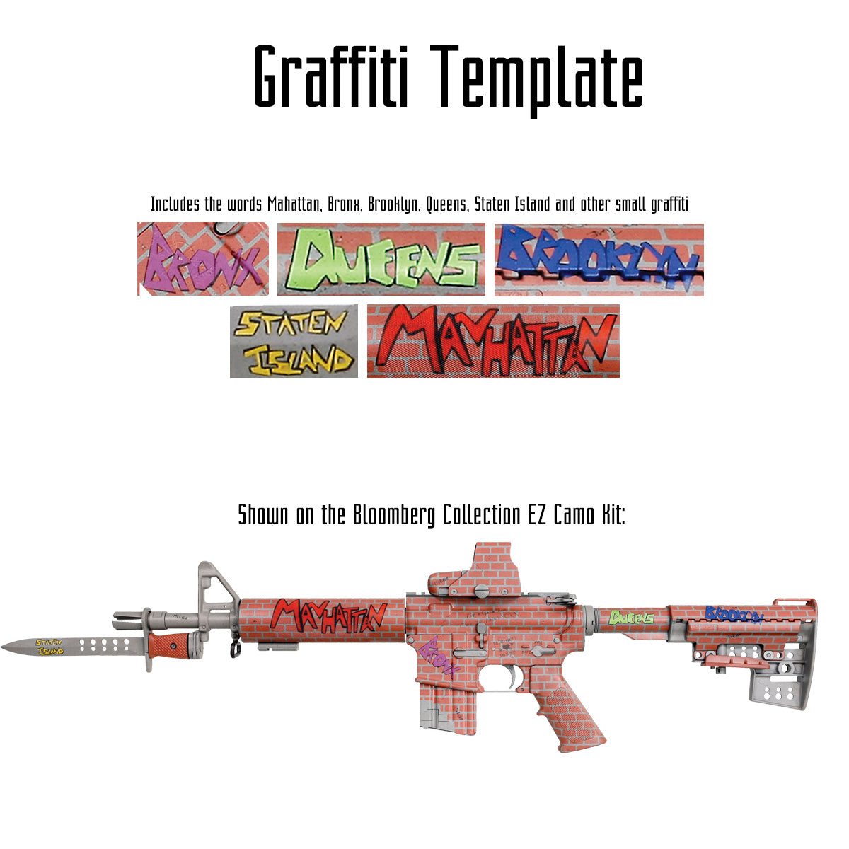Graffiti Template