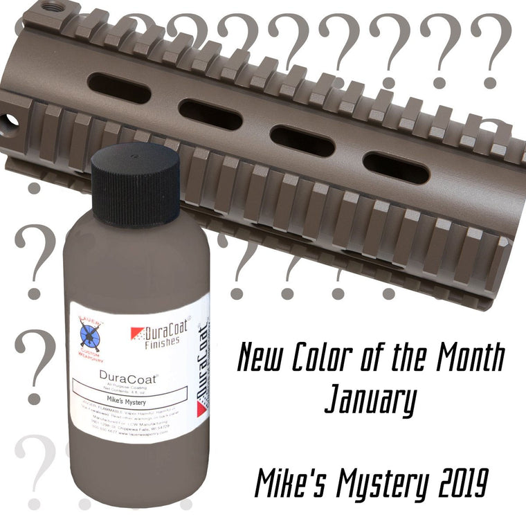 Mike's Mystery 2019 - JANUARY 2019 New Color of the Month