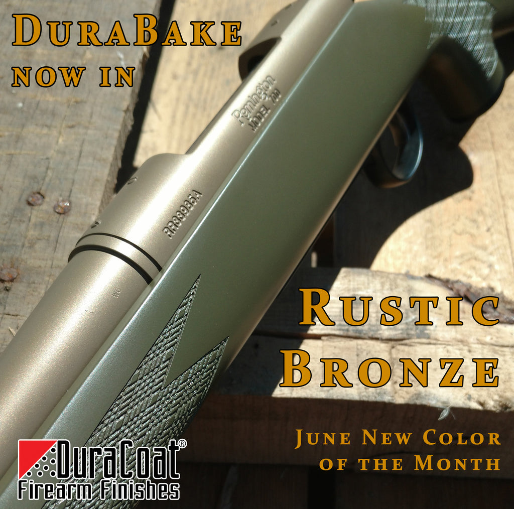 DuraBake™ Rustic Bronze - JUNE 2019 New Color of the Month