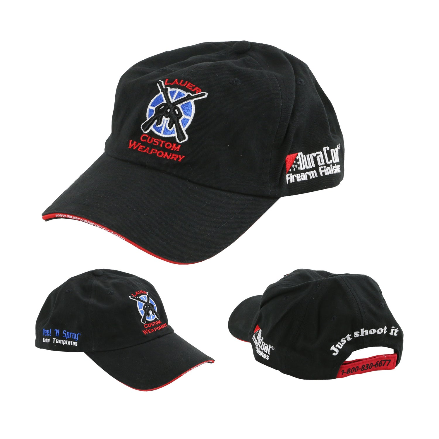 LCW and DuraCoat® Logo Ball Cap