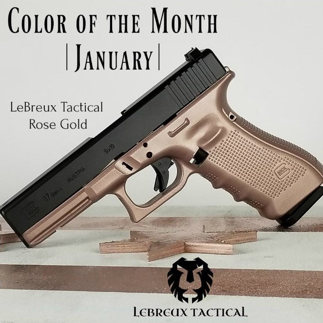 LeBreux Tactical Rose Gold - JANUARY New Color of the Month