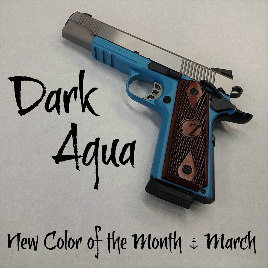 Dark Aqua - MARCH New Color of the Month
