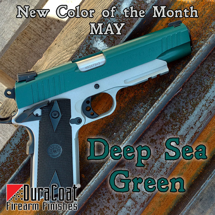 Deep Sea Green - MAY 2019 New Color of the Month