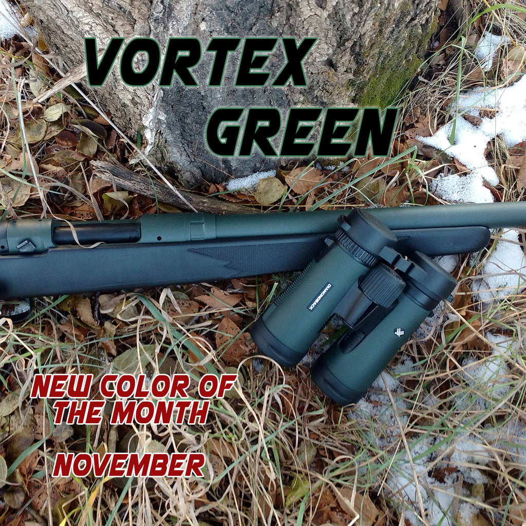 Vortex Green - NOVEMBER New Color of the Month