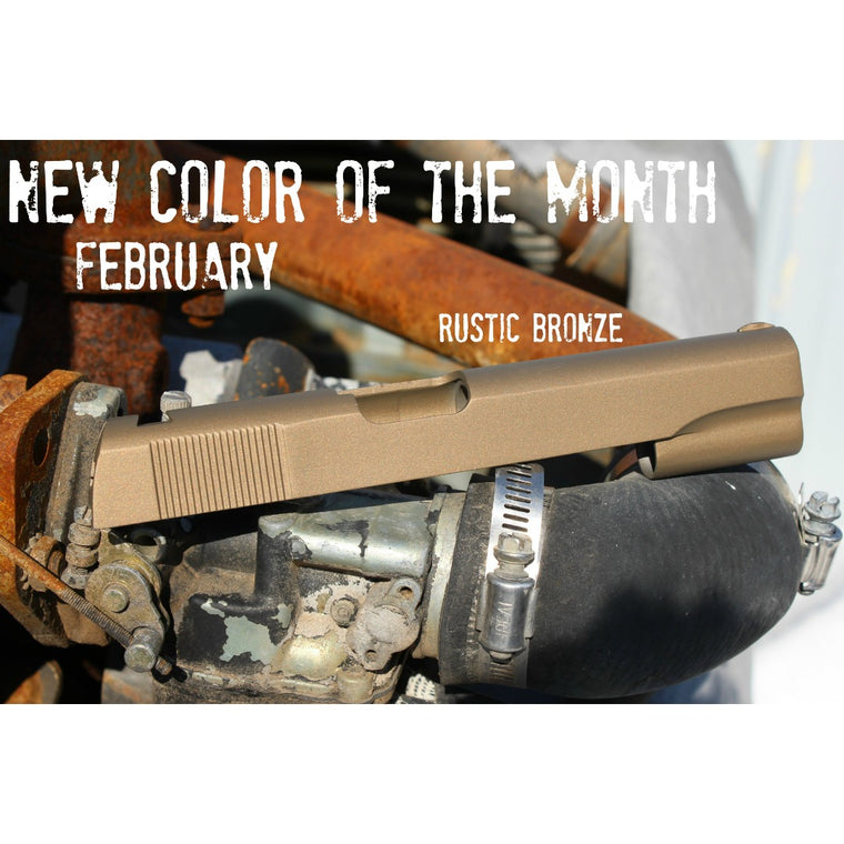 Rustic Bronze - FEBRUARY New Color of the Month