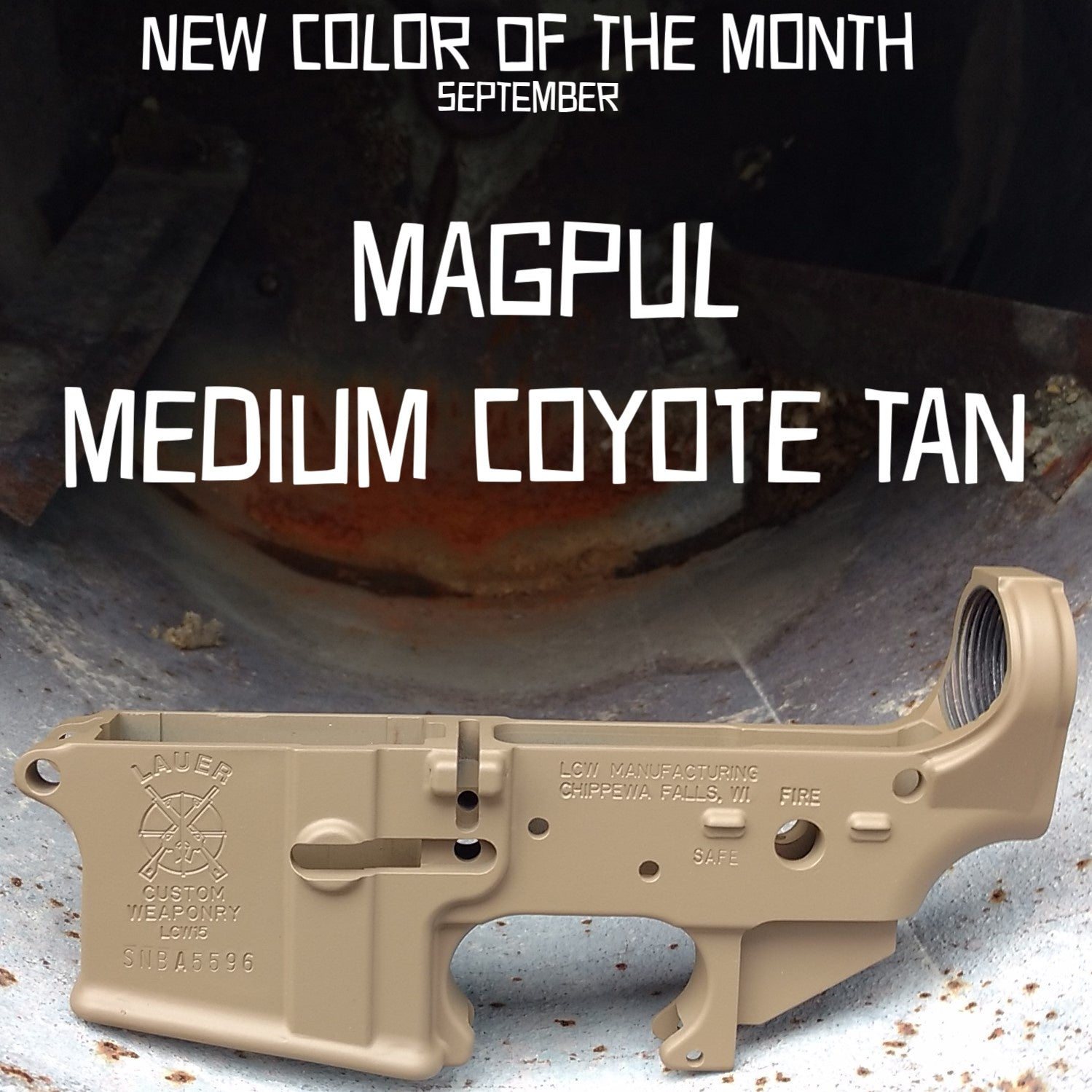 Magpul Medium Coyote Tan - SEPTEMBER New Color of the Month