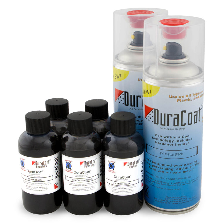 DuraCoat® Standard Colors - Blacks