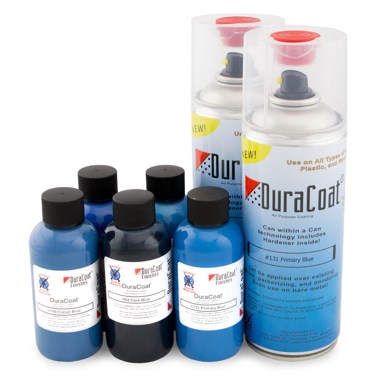 DuraCoat® Standard Colors - Blues