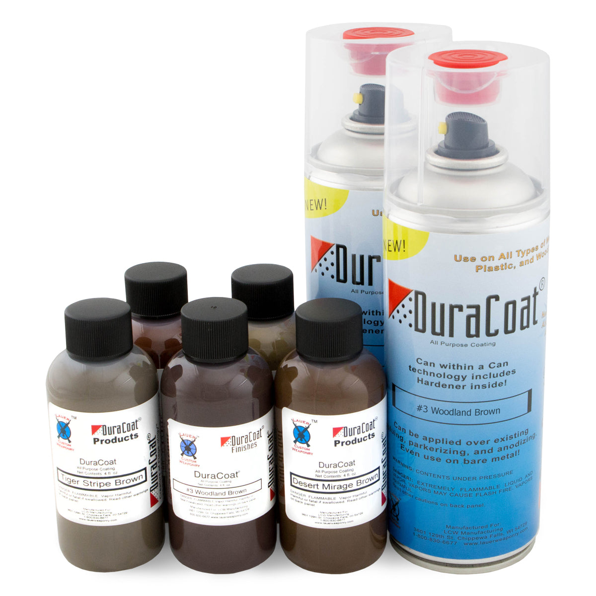 DuraCoat® Standard Colors - Browns