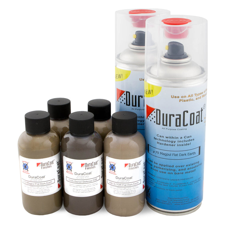 DuraCoat® Standard Colors - Dark Earths