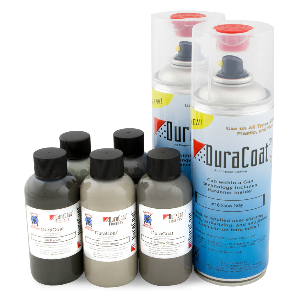 DuraCoat® Standard Colors - Grays