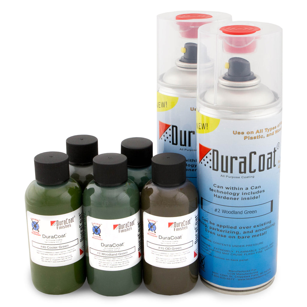DuraCoat® Standard Colors -Greens