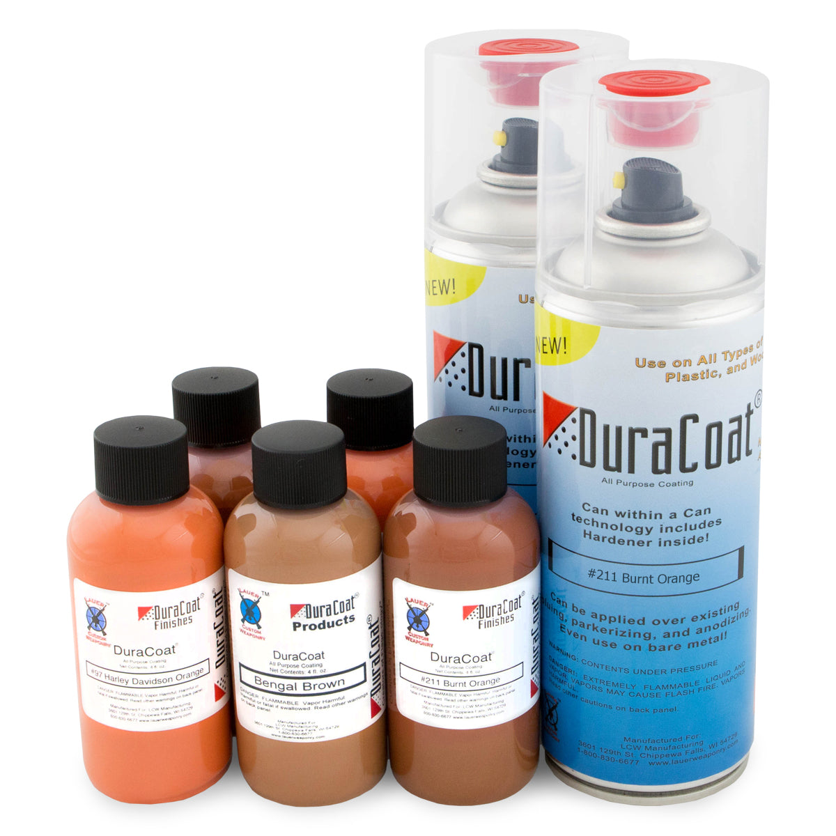 DuraCoat® Standard Colors - Oranges