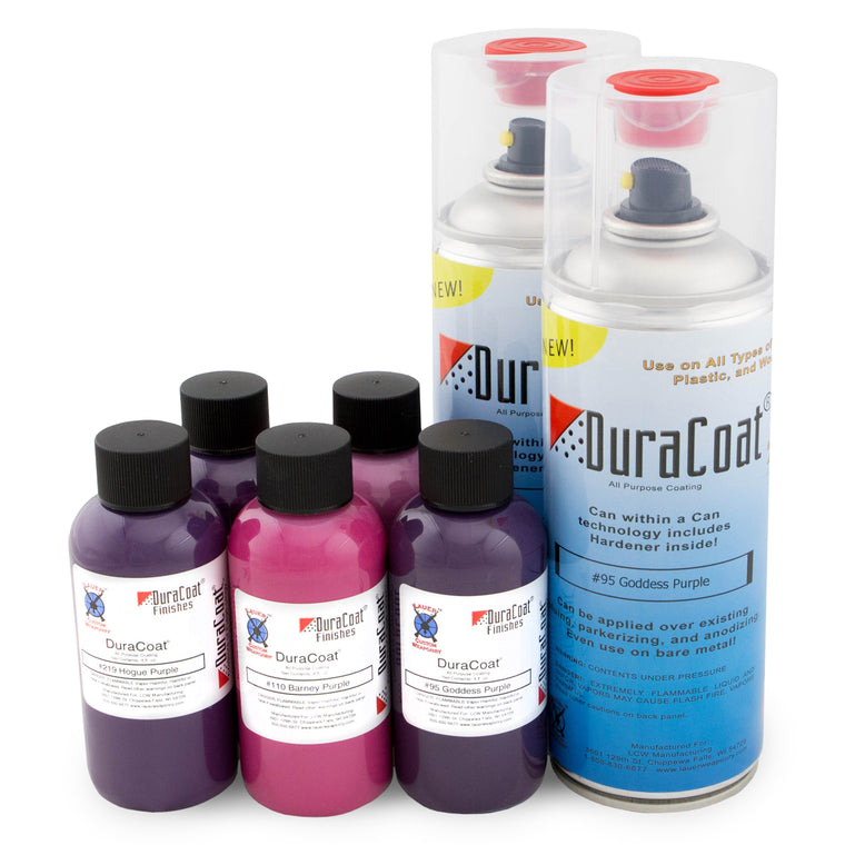 DuraCoat® Standard Colors - Purples