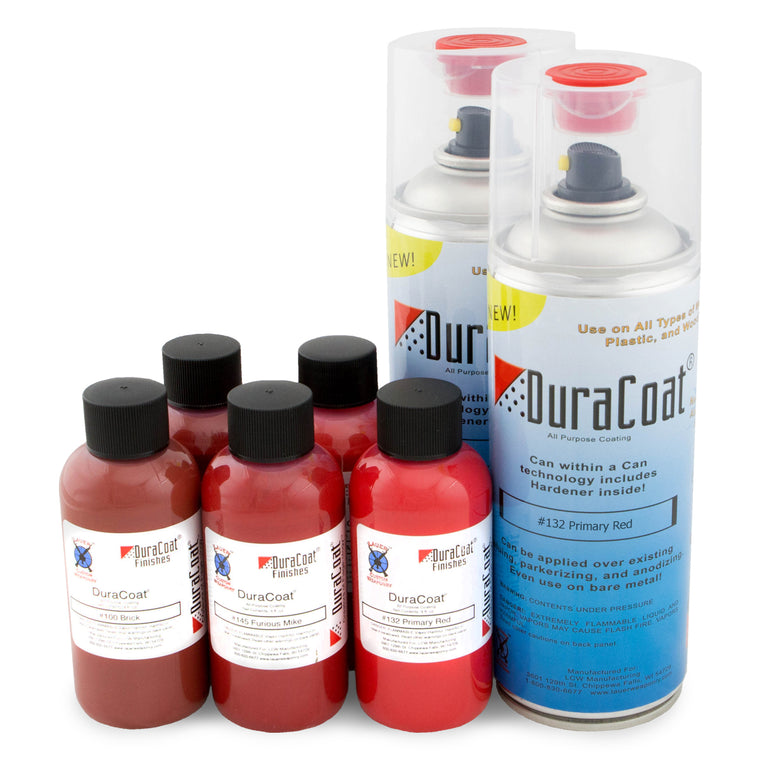DuraCoat® Standard Colors - Reds