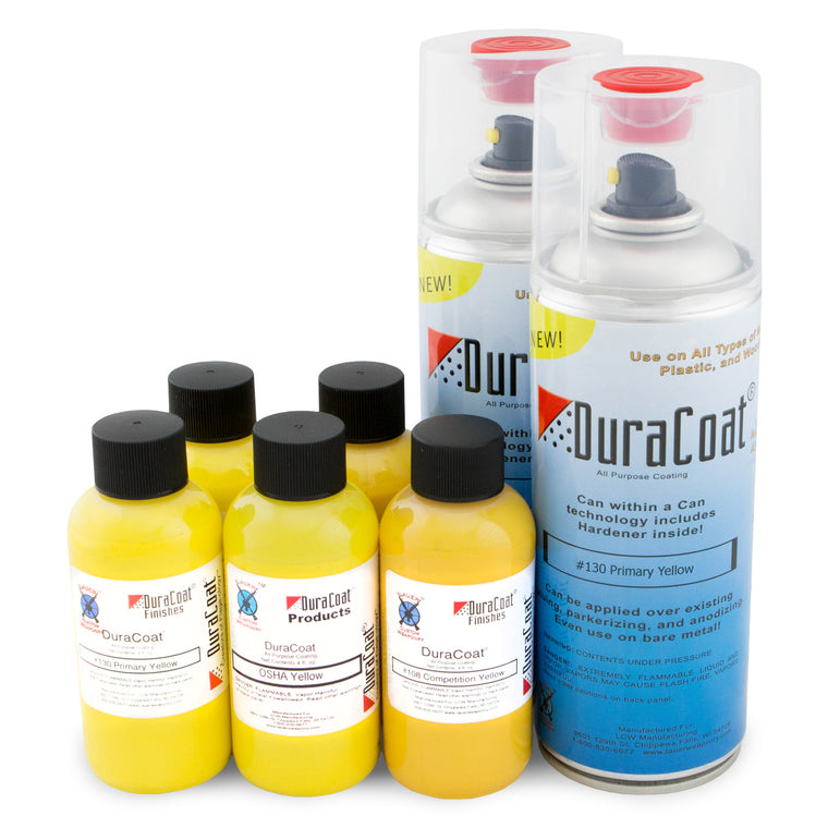 DuraCoat® Standard Colors - Yellows