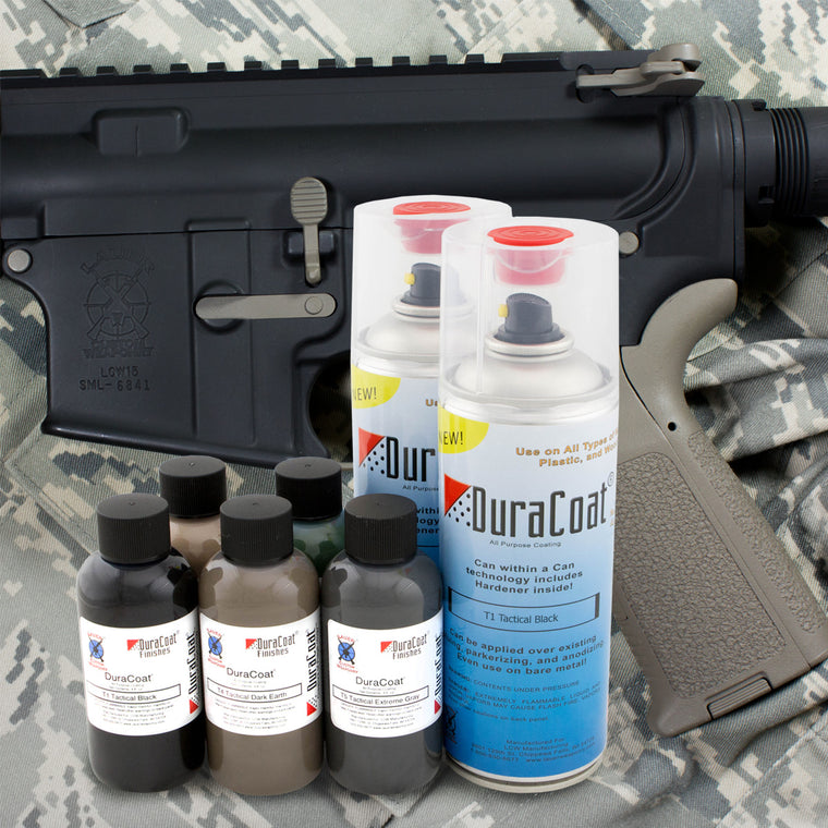 DuraCoat® Tactical Ultra Flat Colors