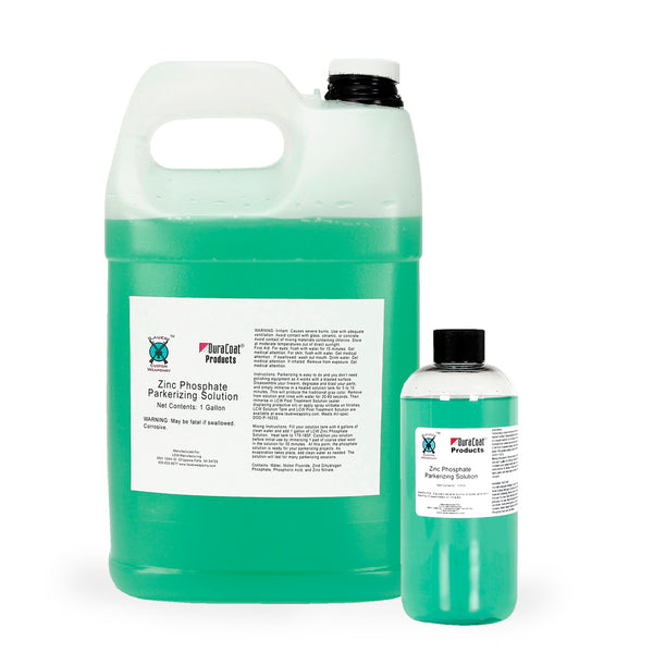 Zinc Phosphate Parkerizing Solution DuraCoat Firearm Finishes By