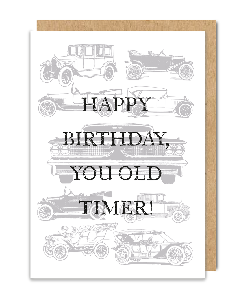 You Old Timer Greeting Card