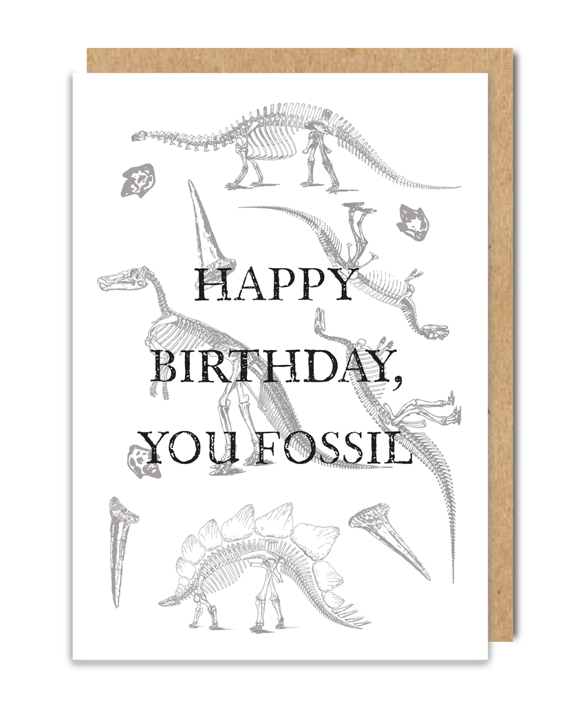 You Fossil Greeting Card