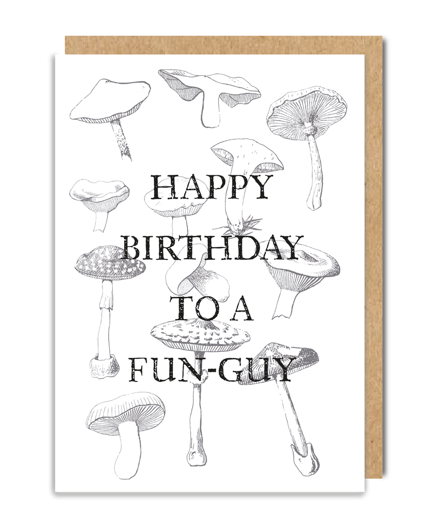 Fun-Guy Greeting Card