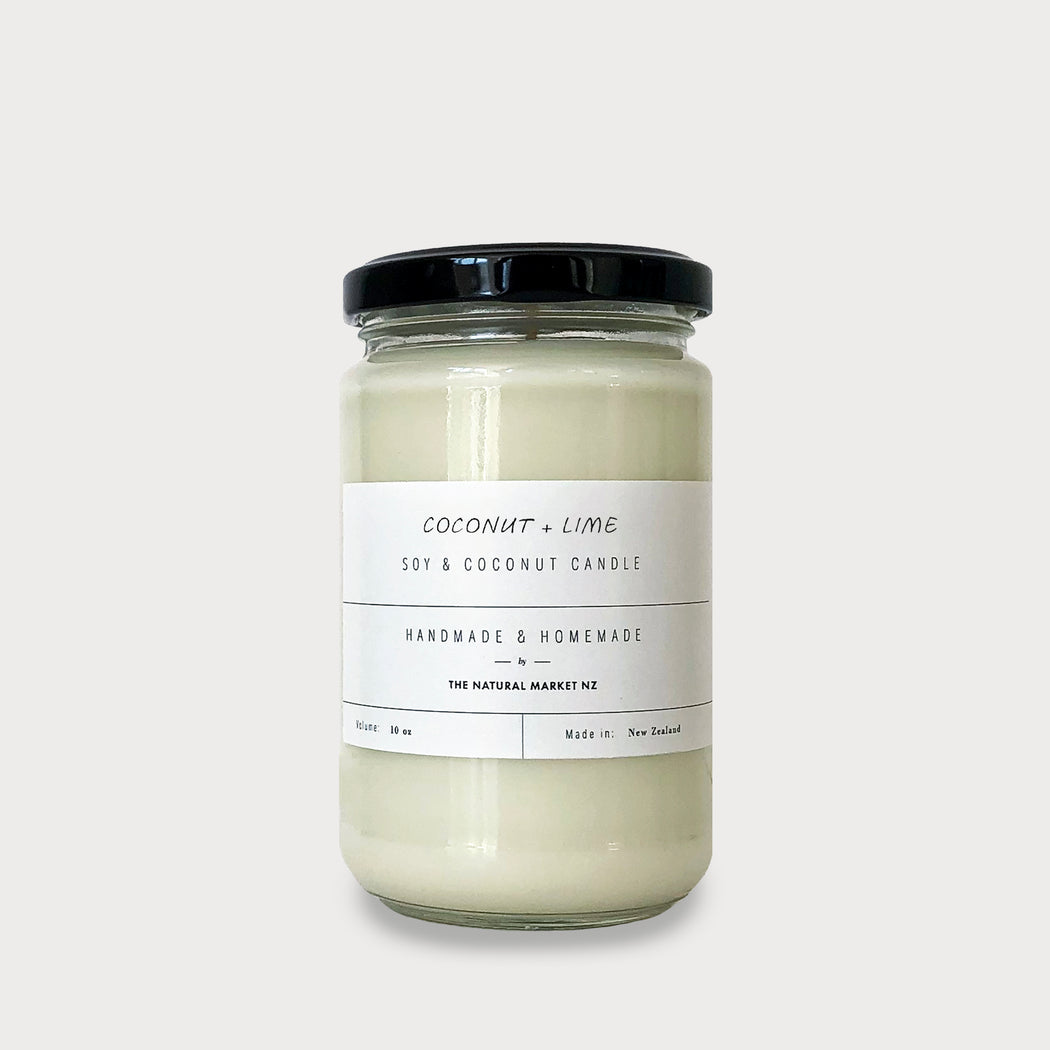 Coconut & Lime - Soy Candle