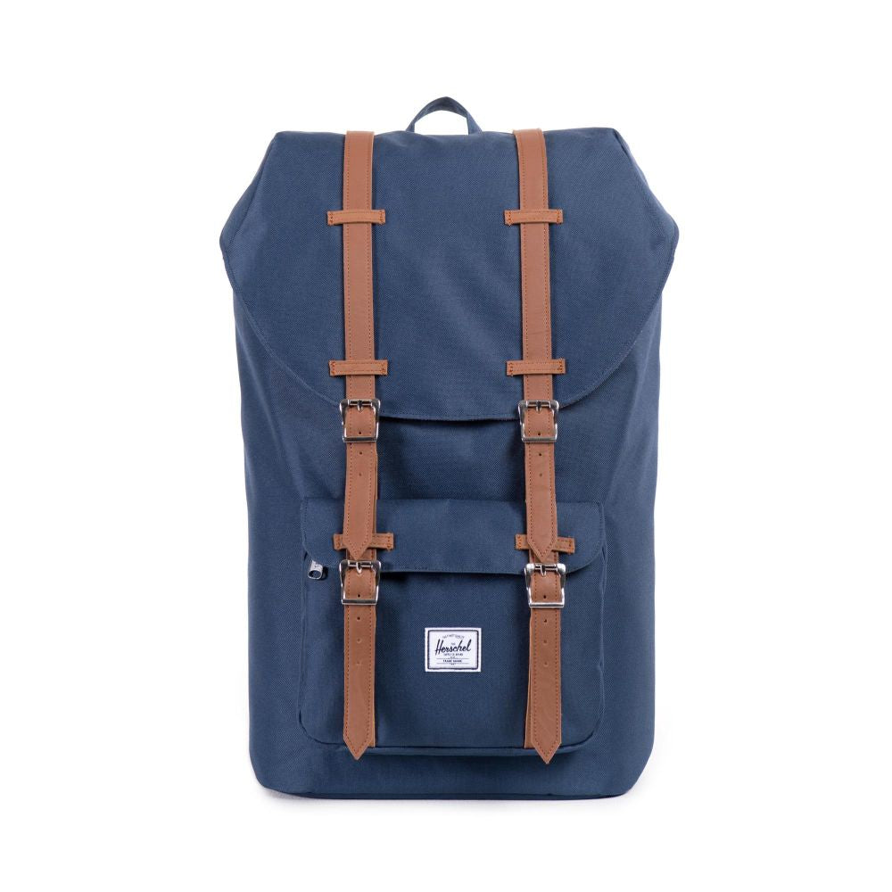 Mochila Little America - Navy/Tan