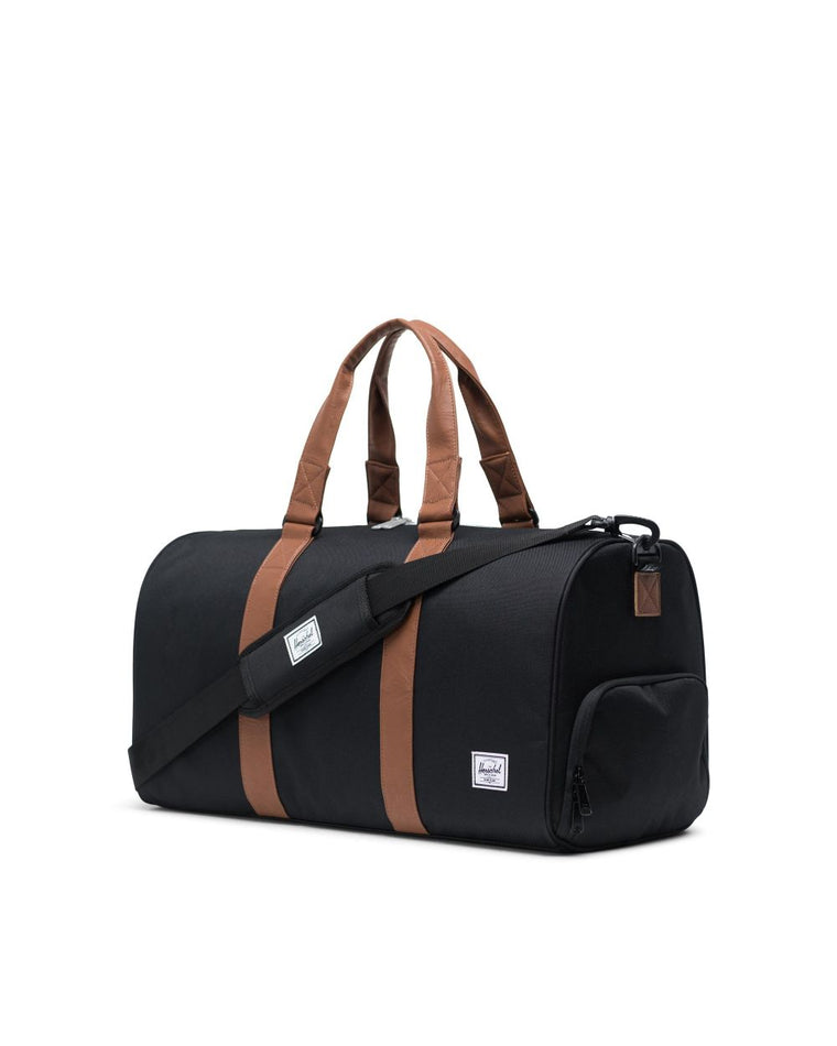 Maleta Novel Duffle Mid Volum - Black/Tan