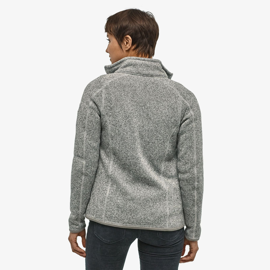 W'S Better Sweater Jacket - Birch White