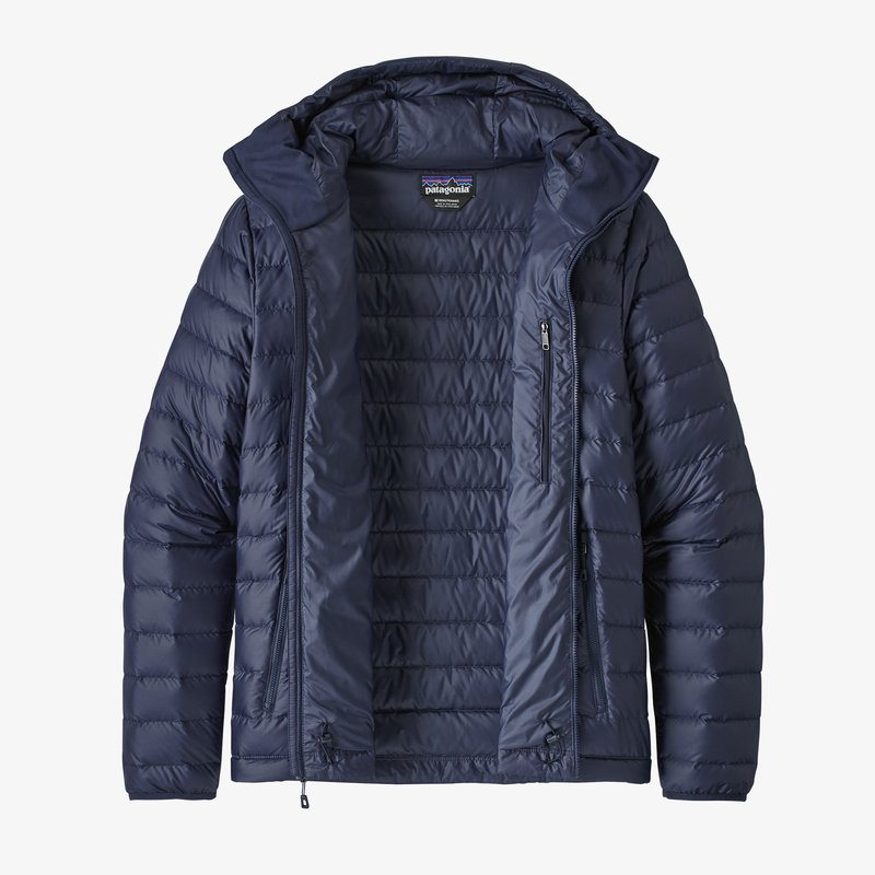 Chaqueta Down Sweater Hoody - Classic Navy