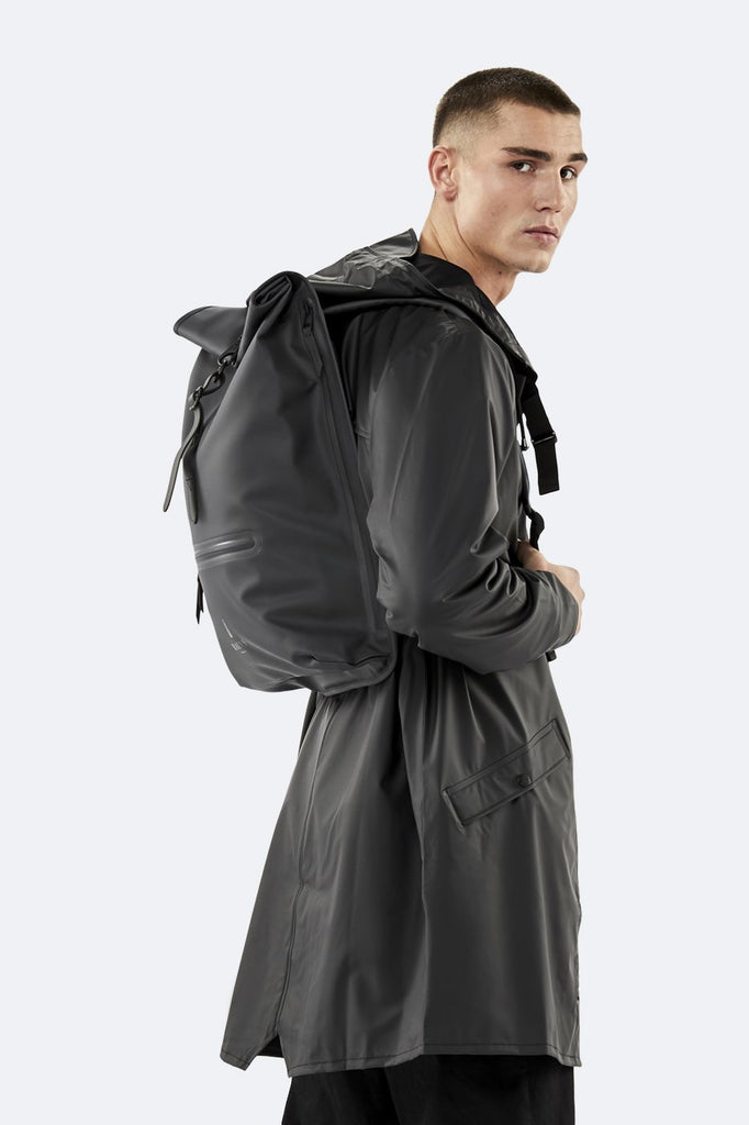 Mochila Roll Top Rucksack - Black