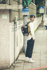 Mochila Colorado Small - Black x Grey