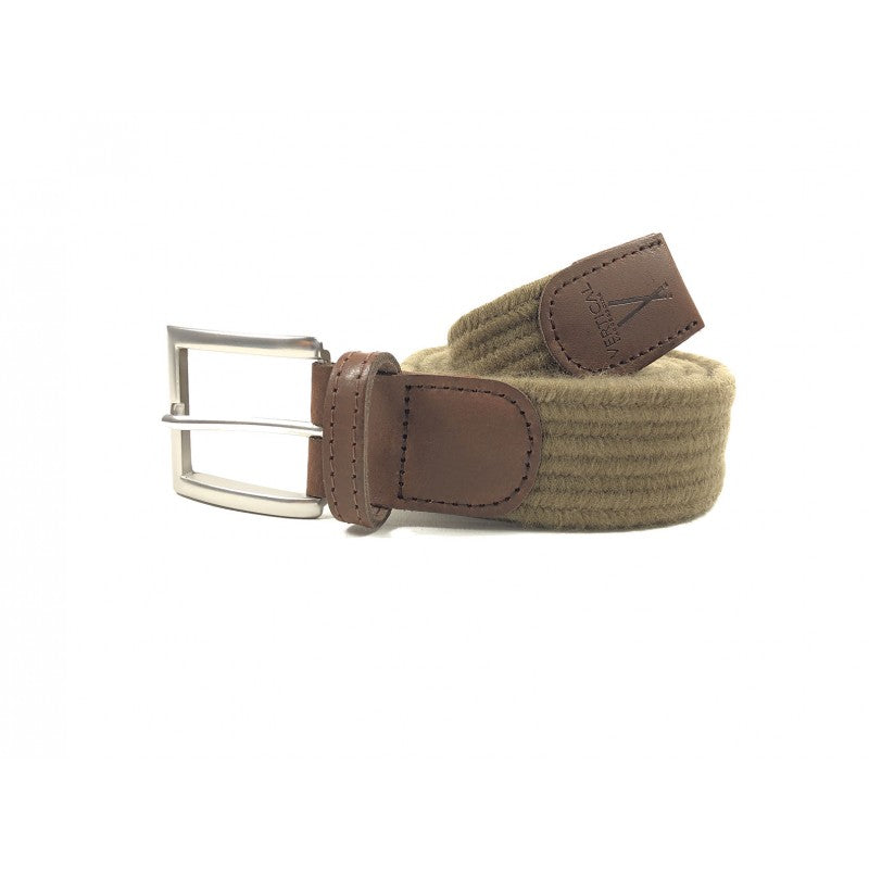 Cinturón Braided Belt - Light Brown