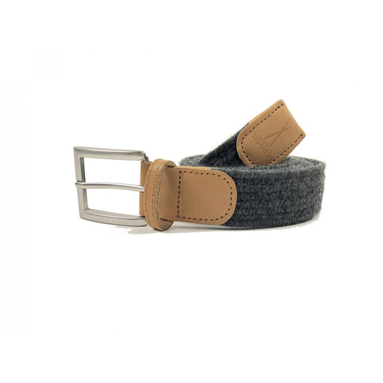 Cinturón Braided Belt - Grey