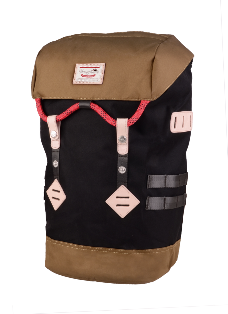 Mochila colorado - Black x Khaki