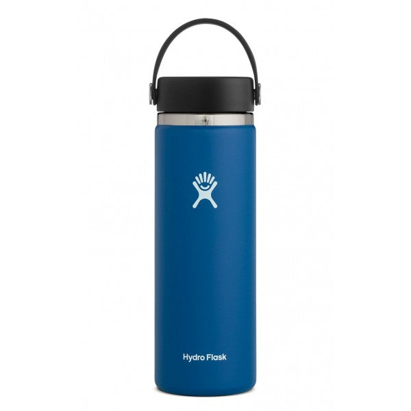 Botella Hydro Flask 20oz Wide Mouth - Cobalt
