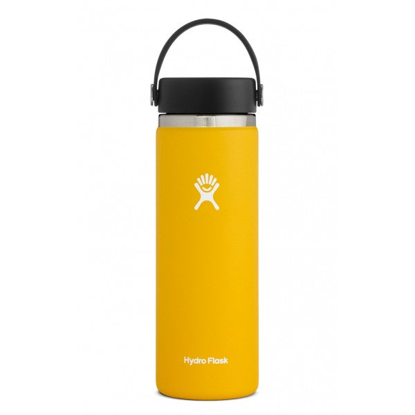Botella Hydro Flask 20oz Wide Mouth - SunFlower