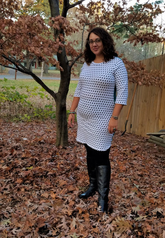 Women's Cozy Cotton Stretch Dress