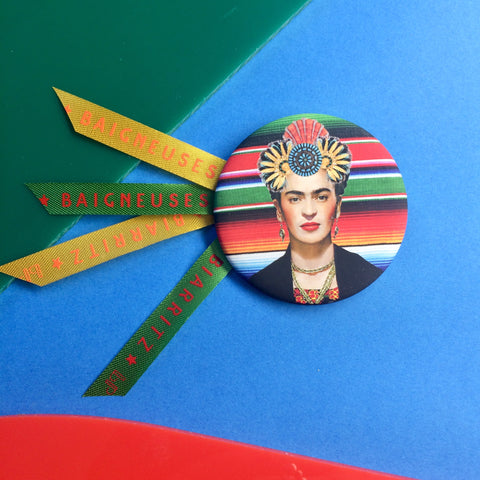 Badge 56mm Frida Inca