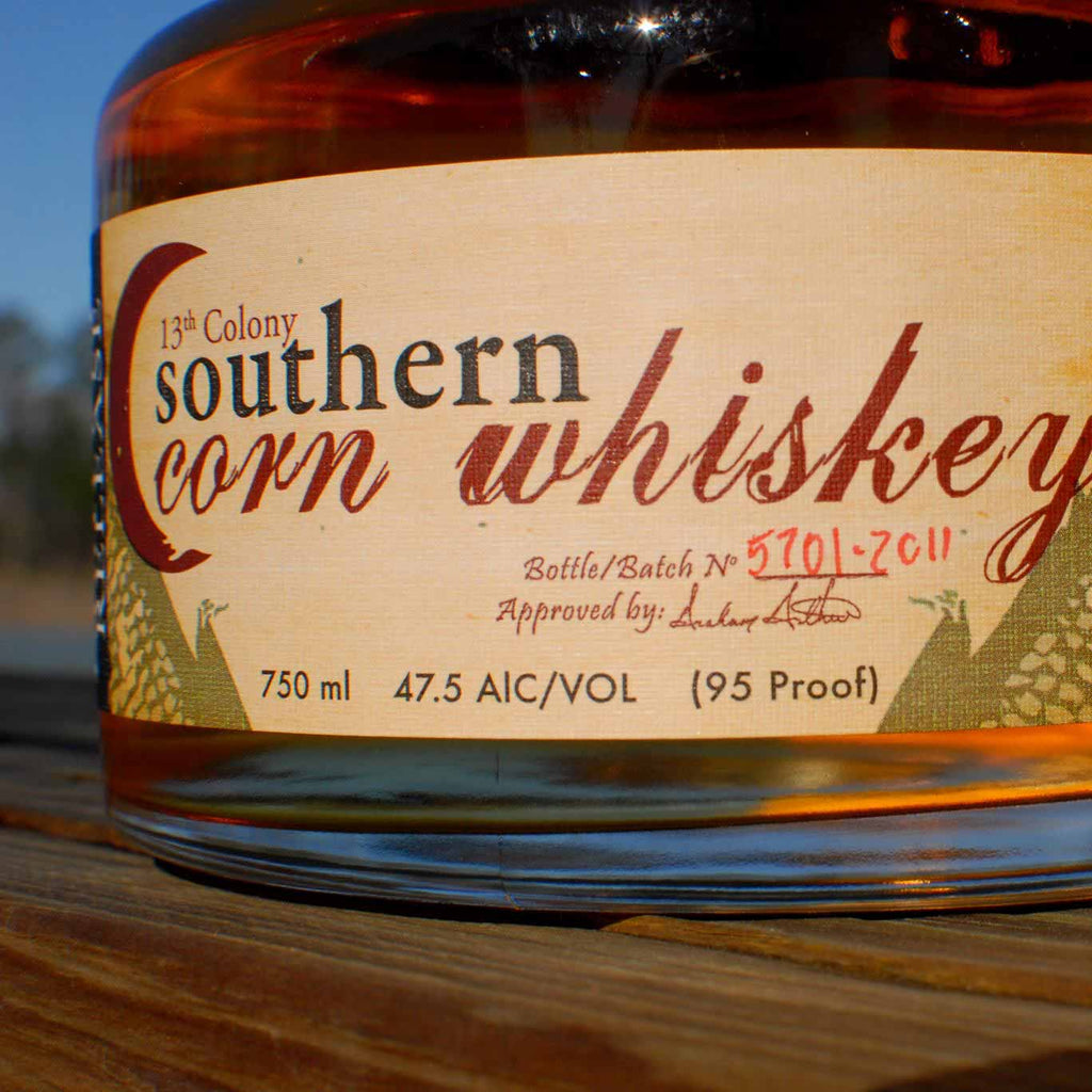 Thirteenth Colony Southern Corn Whiskey 750mL
