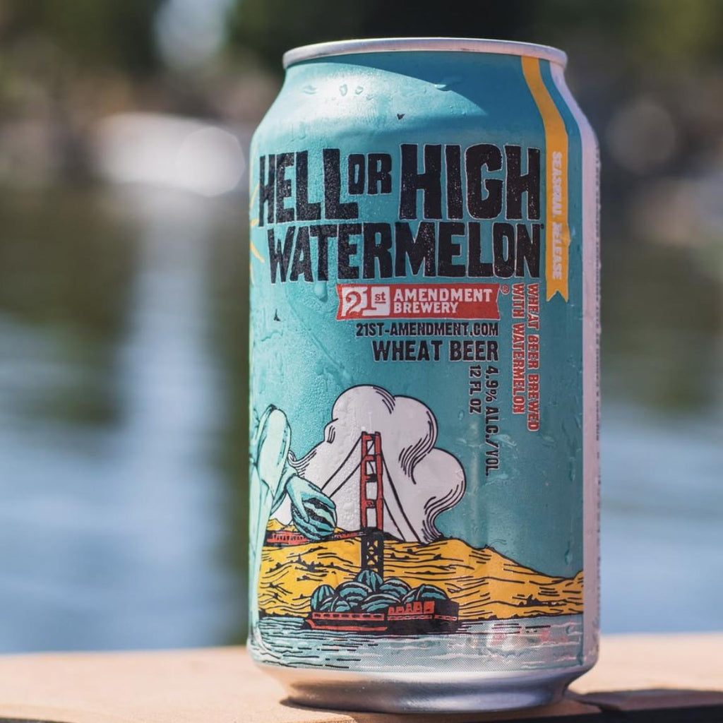 21st Amendment Hell or High Watermelon 6pk