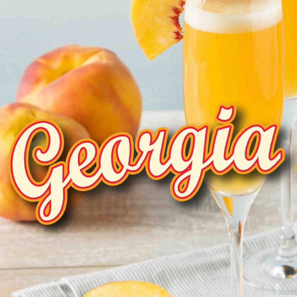 360 Georgia Peach Vodka 750mL
