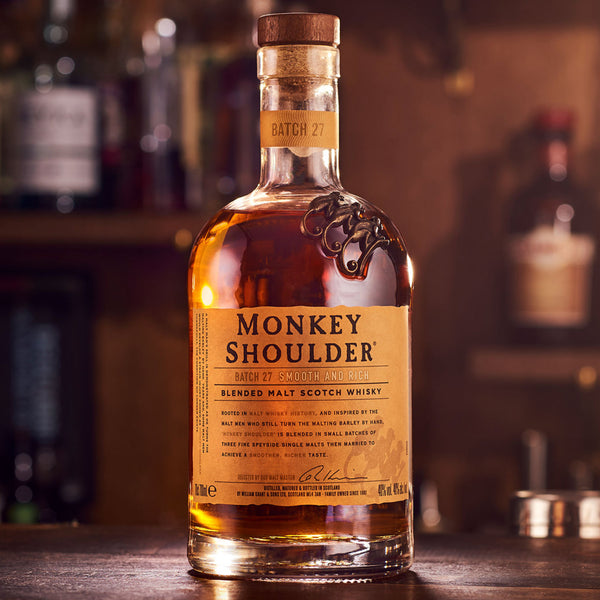 Monkey Shoulder Blended Malt Scotch Whiskey 750mL