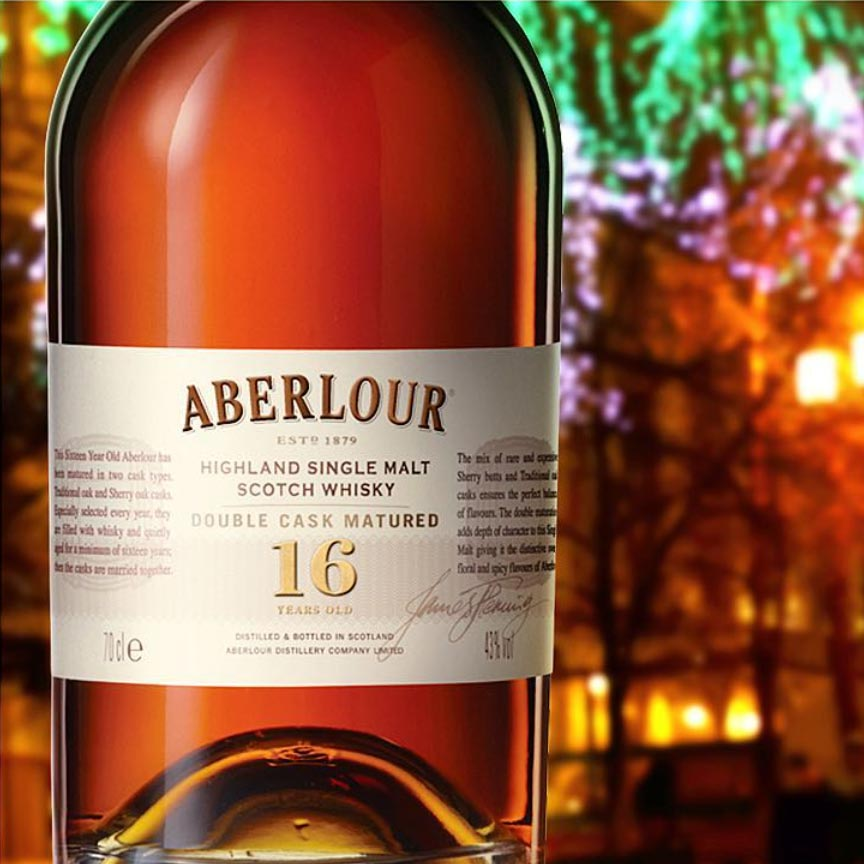 Aberlour 16 Year Double Casked Single Malt Scotch 750mL